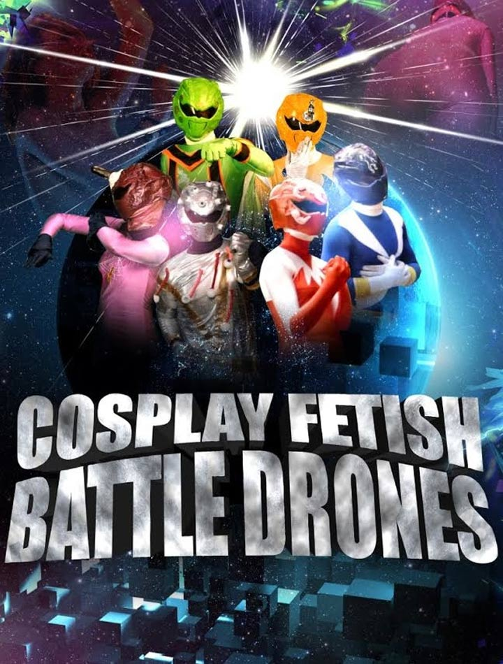 Cosplay Fetish Battle Drones Poster #1