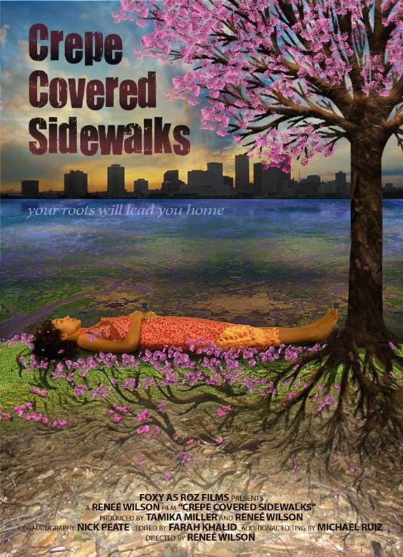 Crepe Covered Sidewalks Poster #1