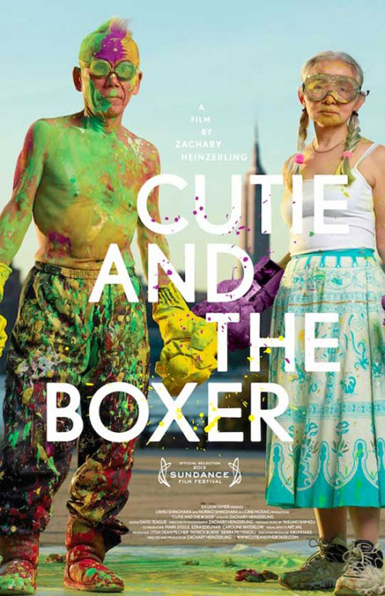 Cutie and the Boxer Poster #1