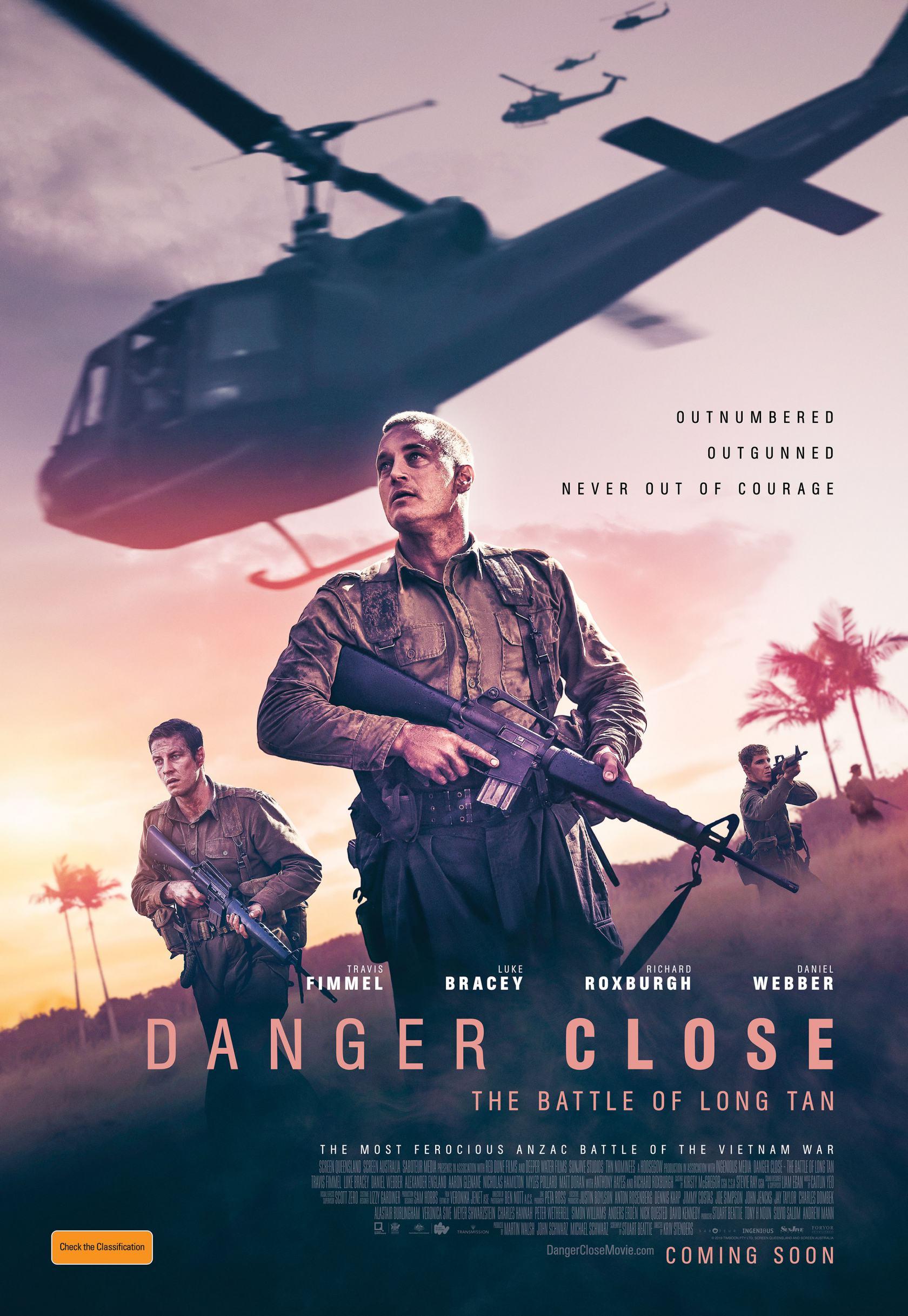 Danger Close: The Battle of Long Tan Poster #1