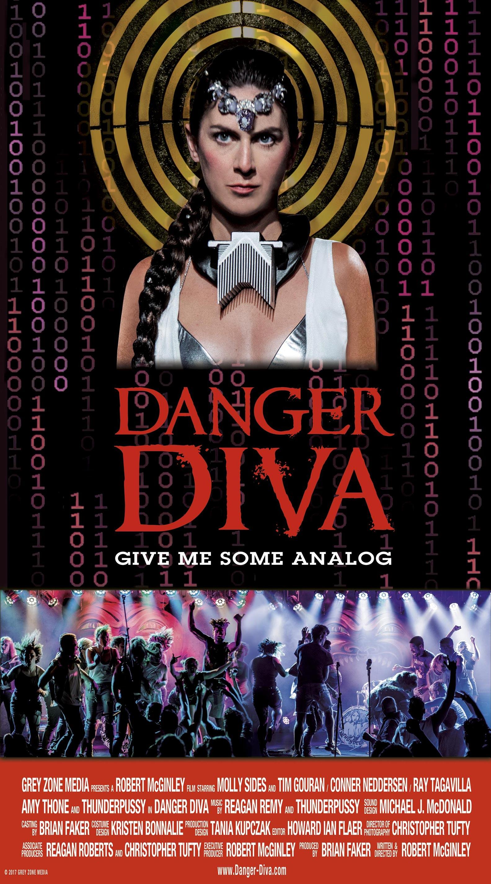 Danger Diva Poster #1