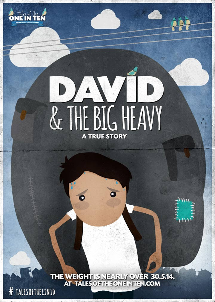 David & The Big Heavy Poster #1