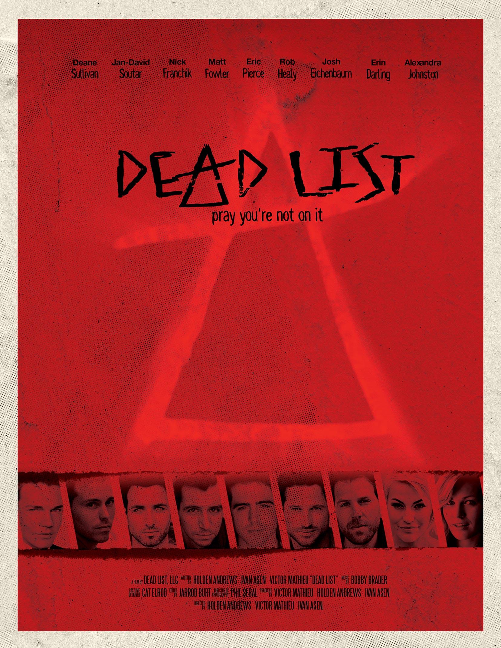 Dead List Poster #1