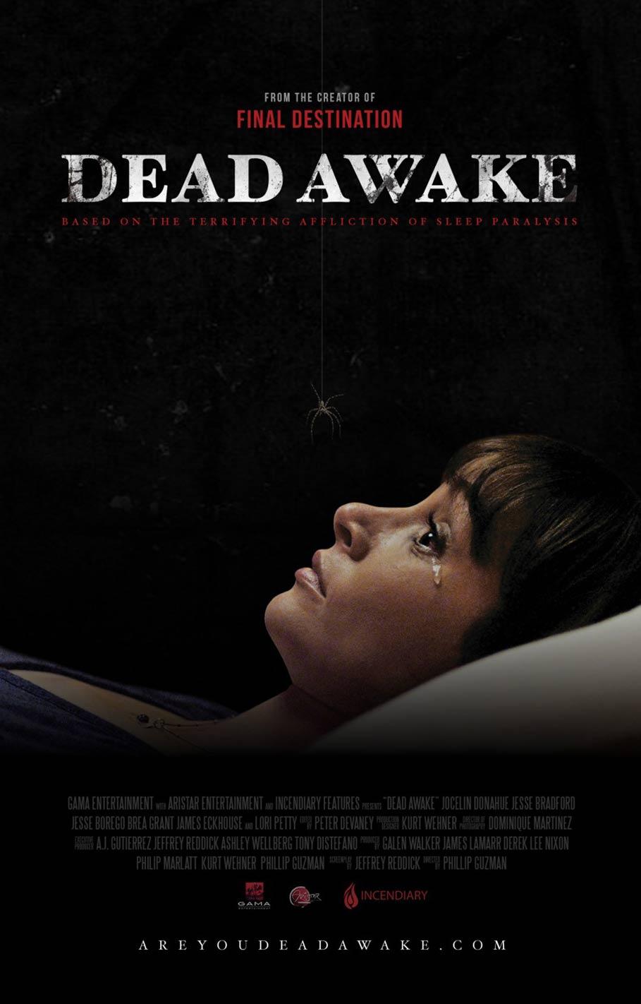 Dead Awake Poster #1