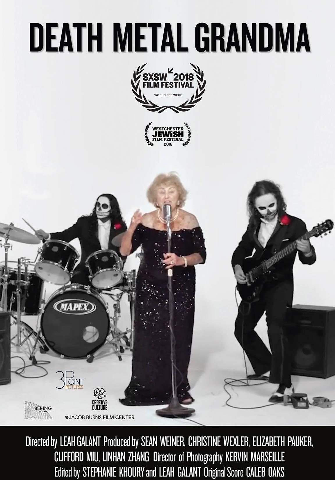 Death Metal Grandma Poster #1