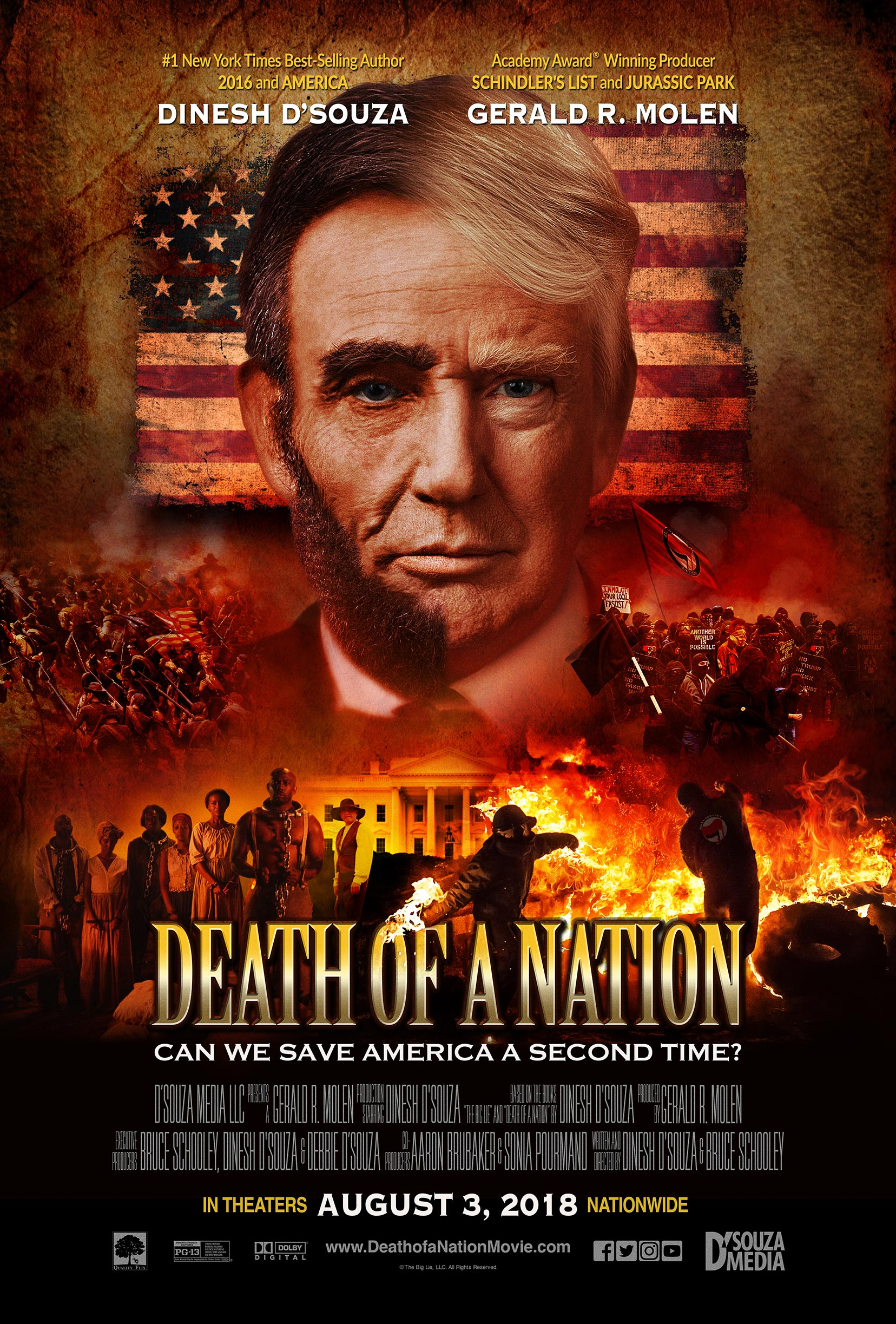 Death of a Nation Poster #1