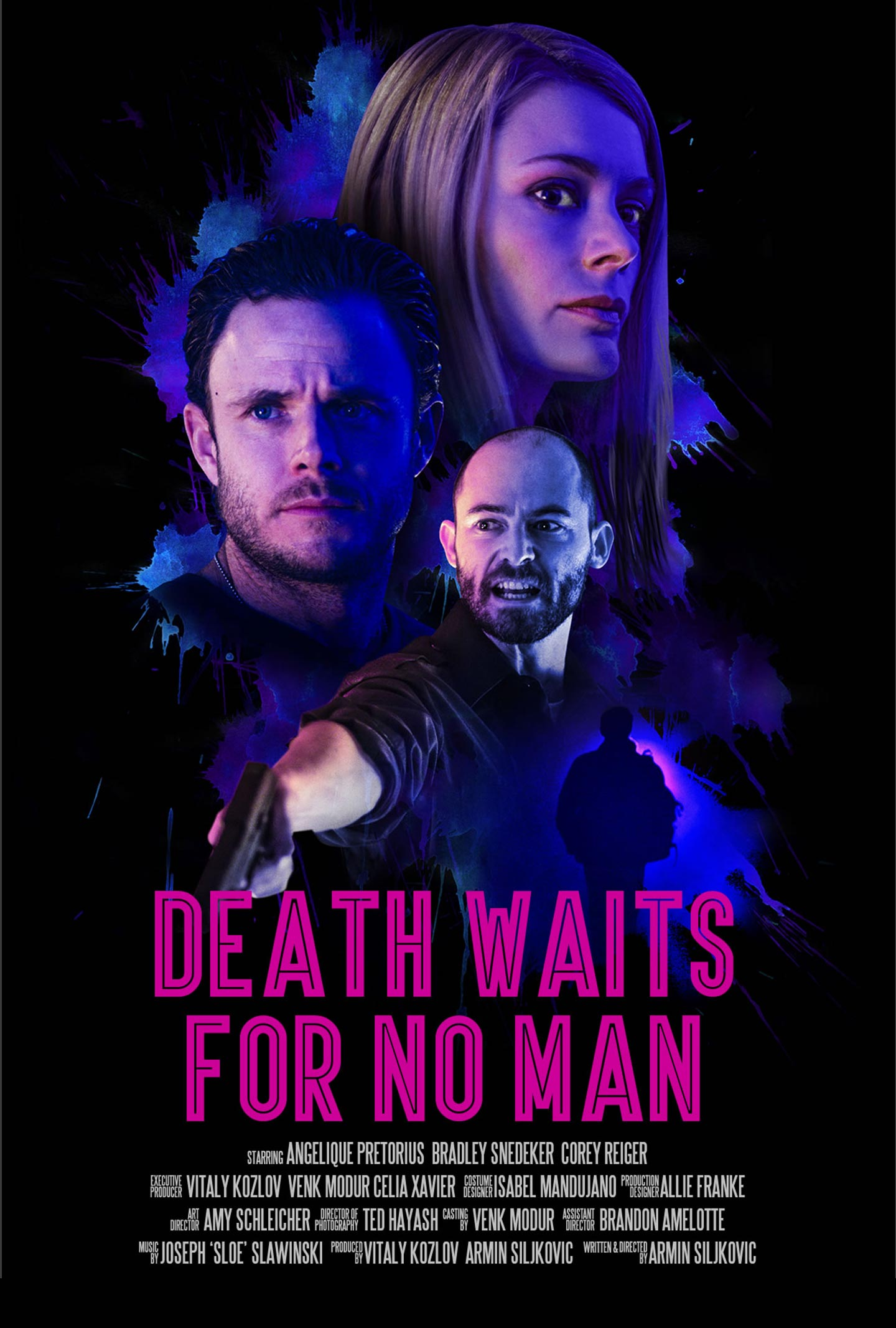 Death Waits for No Man Poster #1