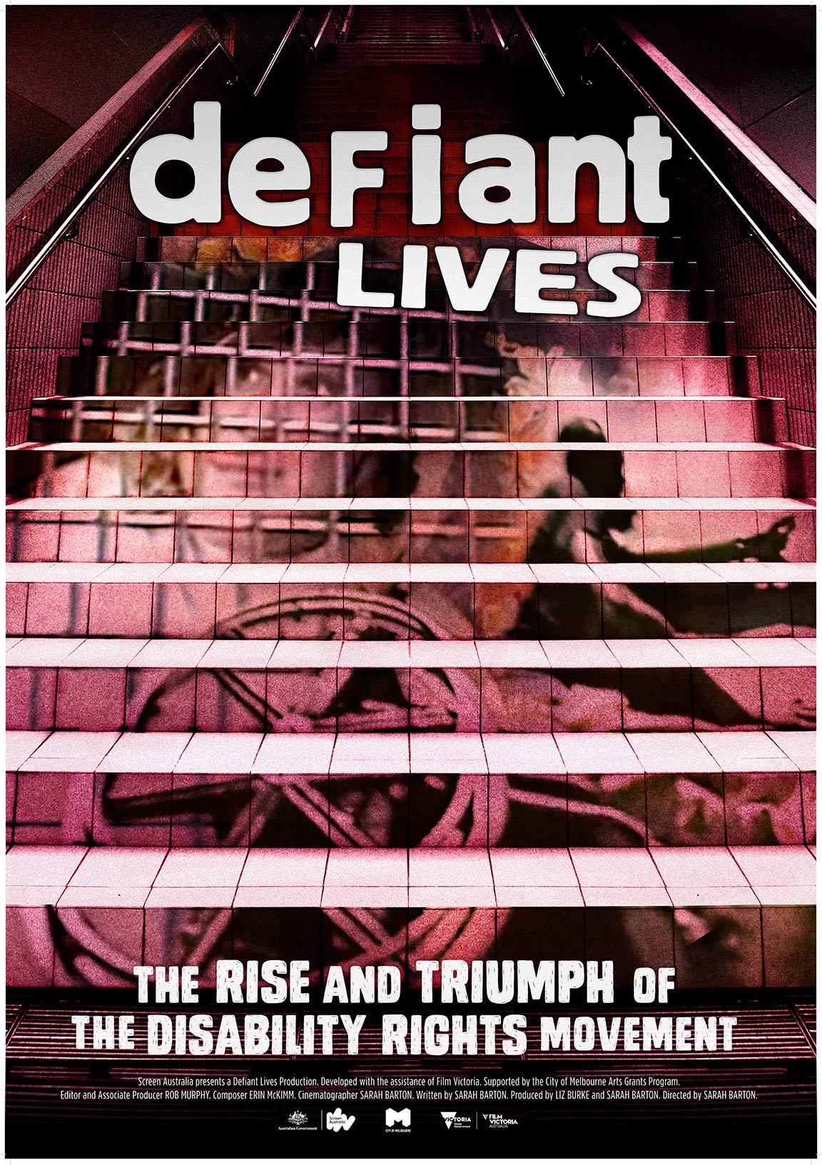 Defiant Lives Poster #1