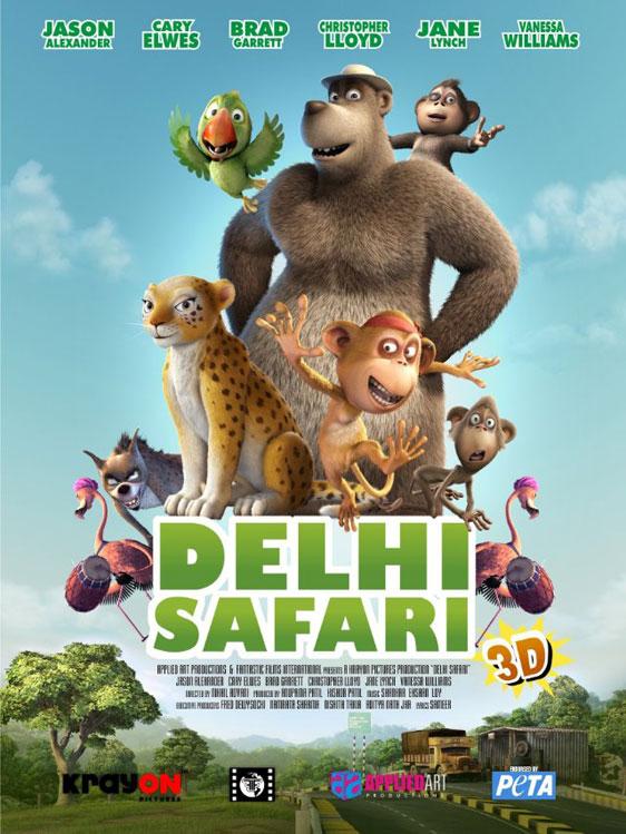 Delhi Safari Poster #1