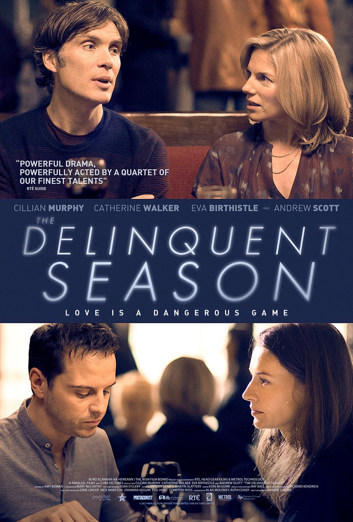 The Delinquent Season Poster #1