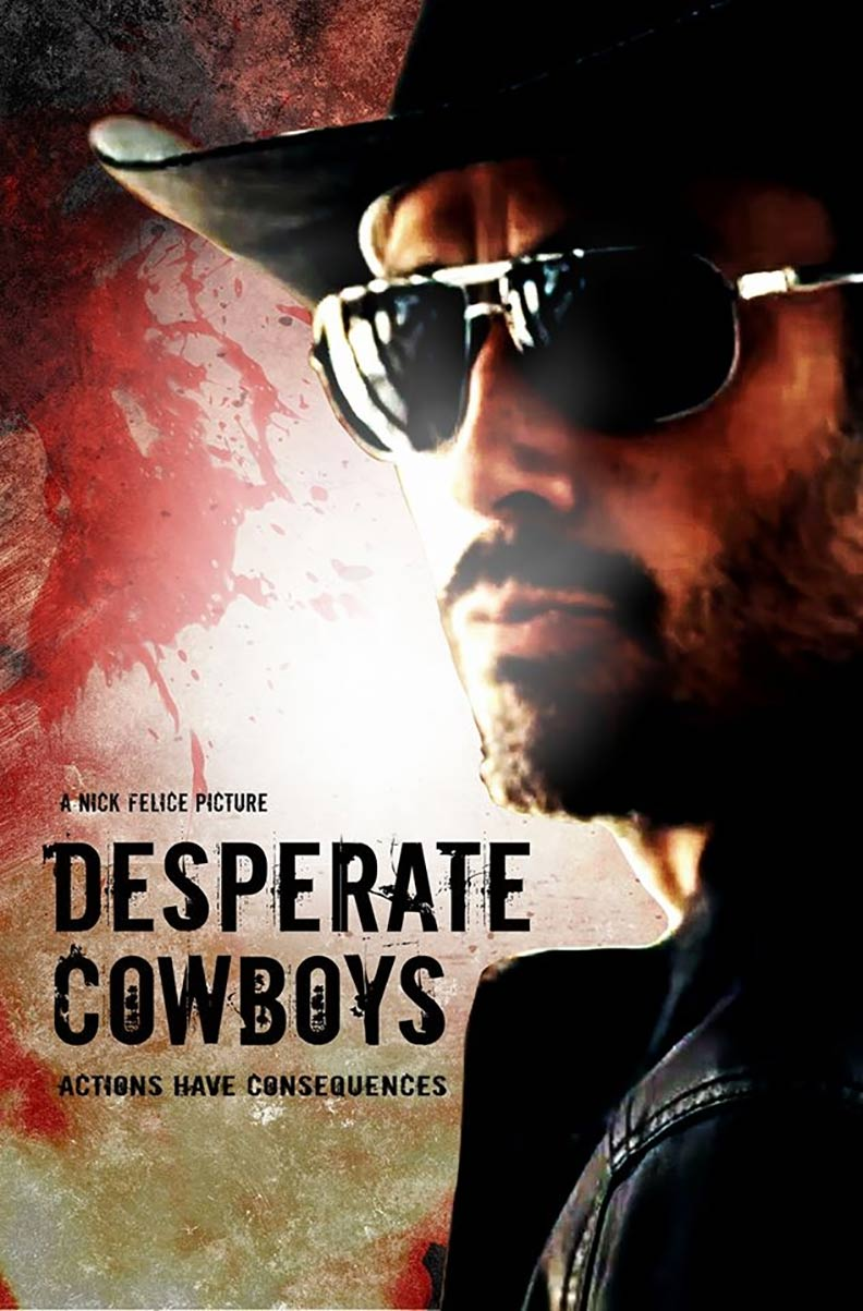 Desperate Cowboys Poster #1