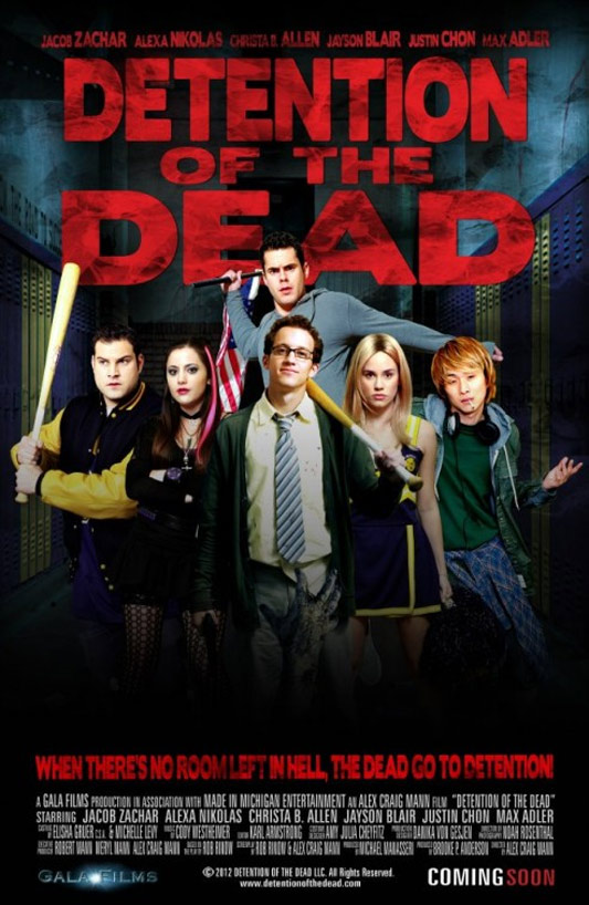 Detention of the Dead Poster #1
