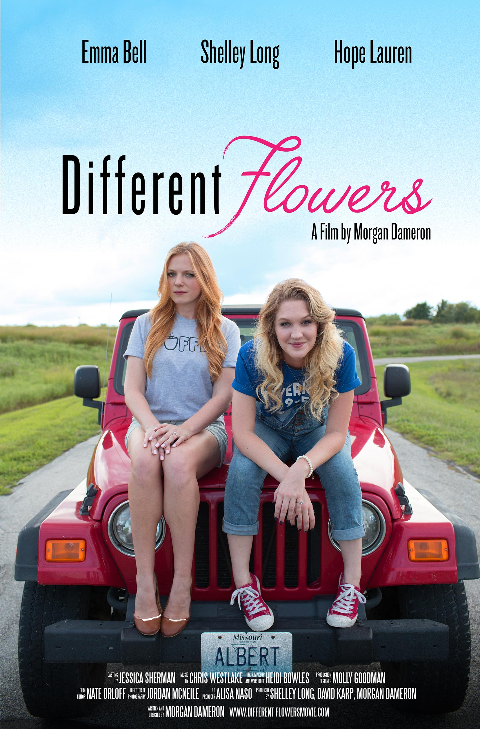 Different Flowers Poster #1