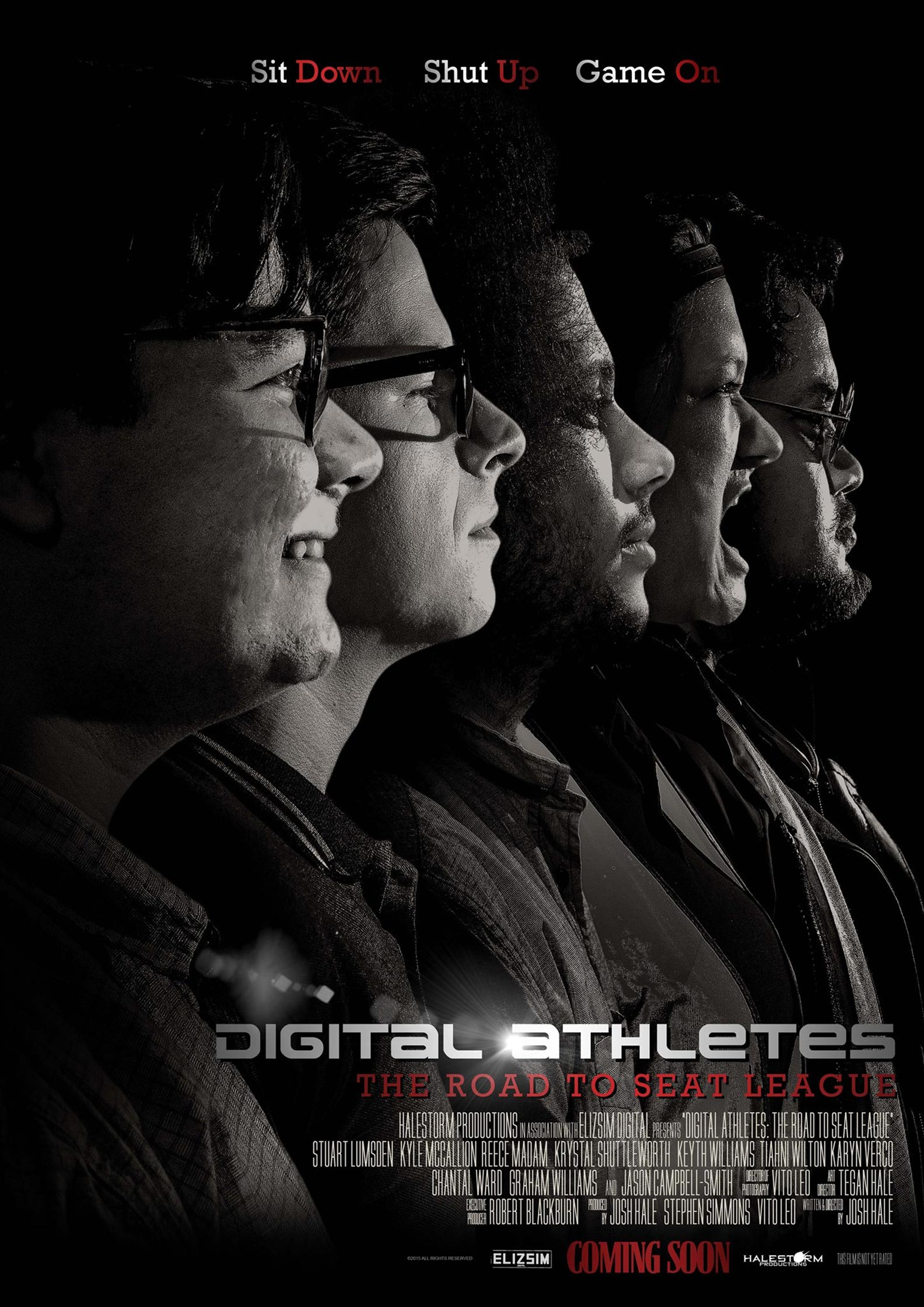 Digital Athletes: The Road to Seat League Poster #1