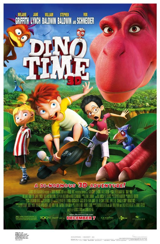 Dino Time Poster #1