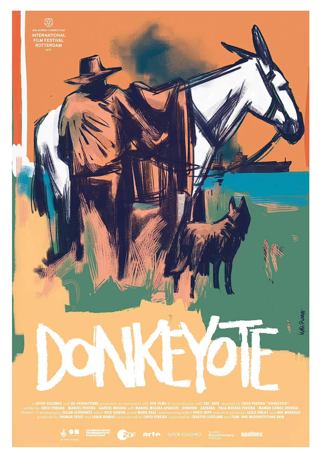 Donkeyote Poster #1
