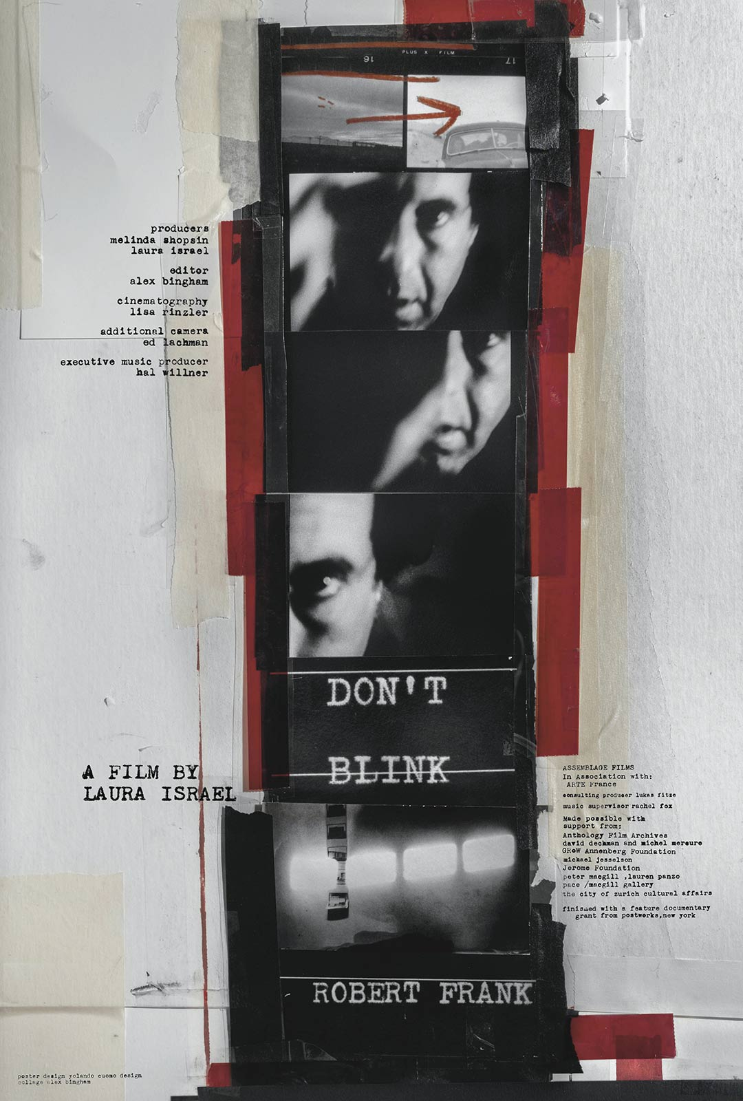 Don't Blink - Robert Frank Poster #1