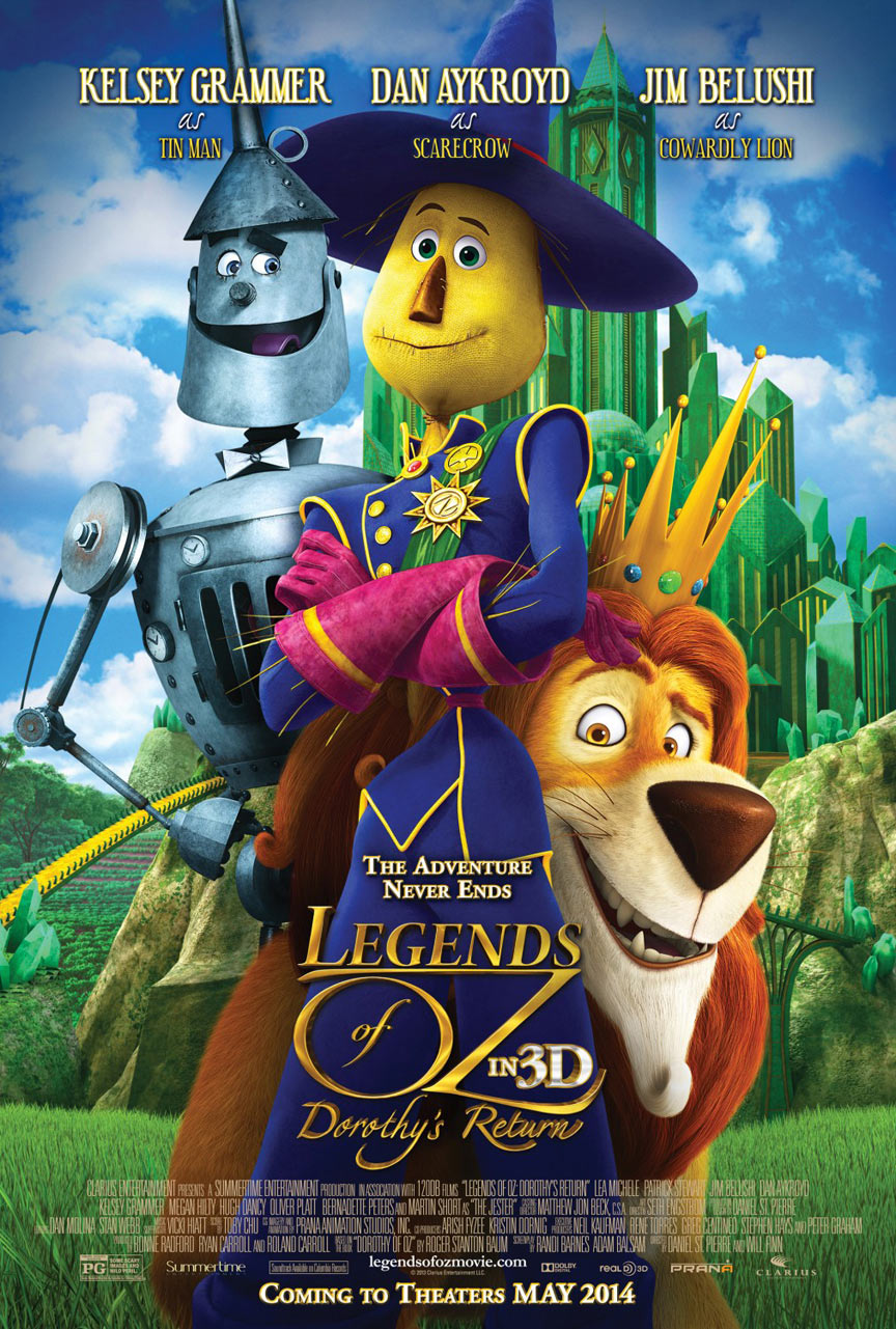 Legends of Oz: Dorothy's Return Poster #3