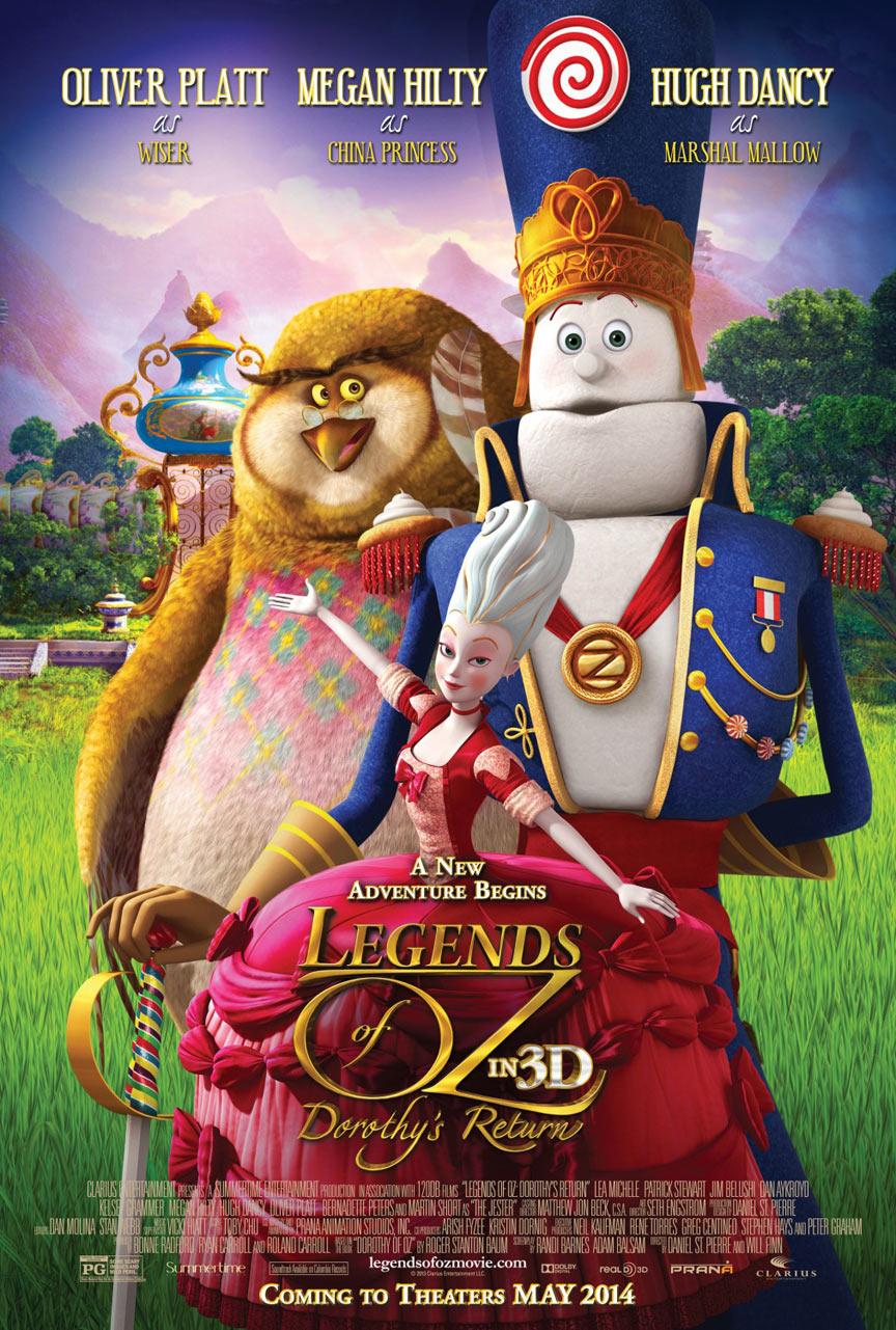 Legends of Oz: Dorothy's Return Poster #4