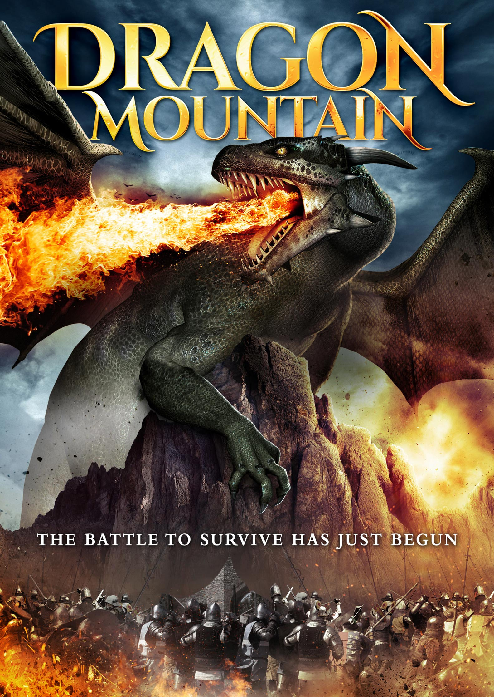 Dragon Mountain Poster #1