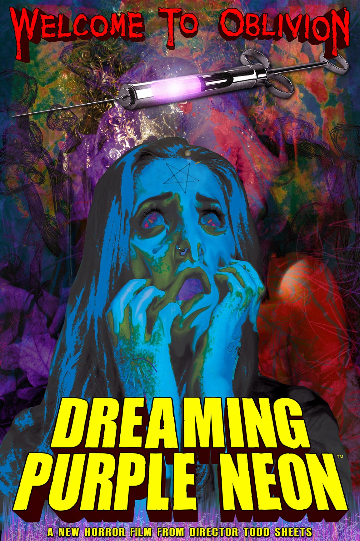 Dreaming Purple Neon Poster #1