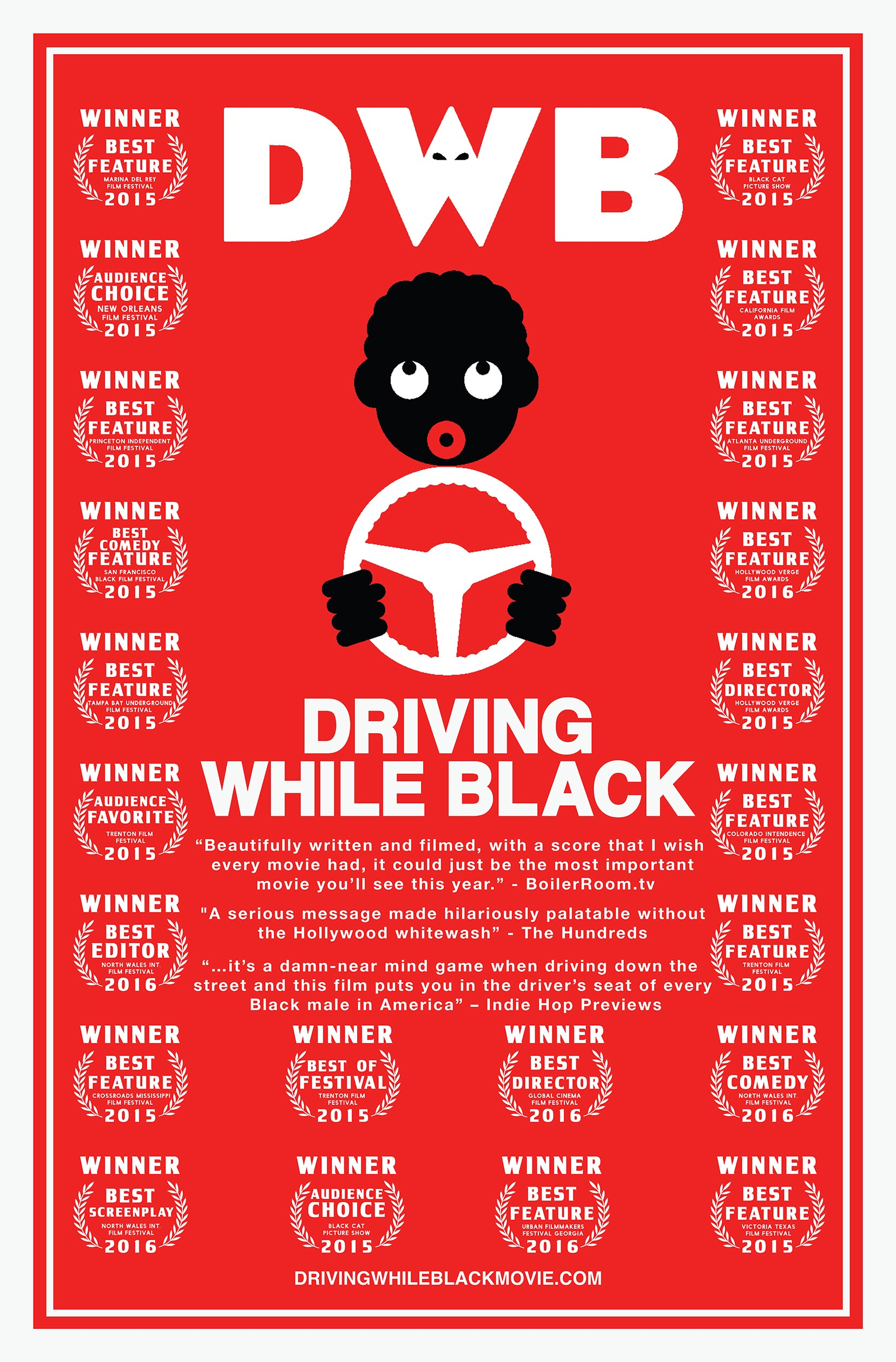 Drunk While Black Poster #1