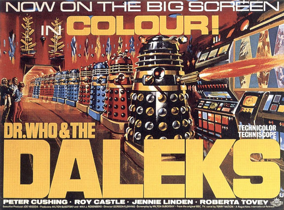Dr. Who and the Daleks Poster #1
