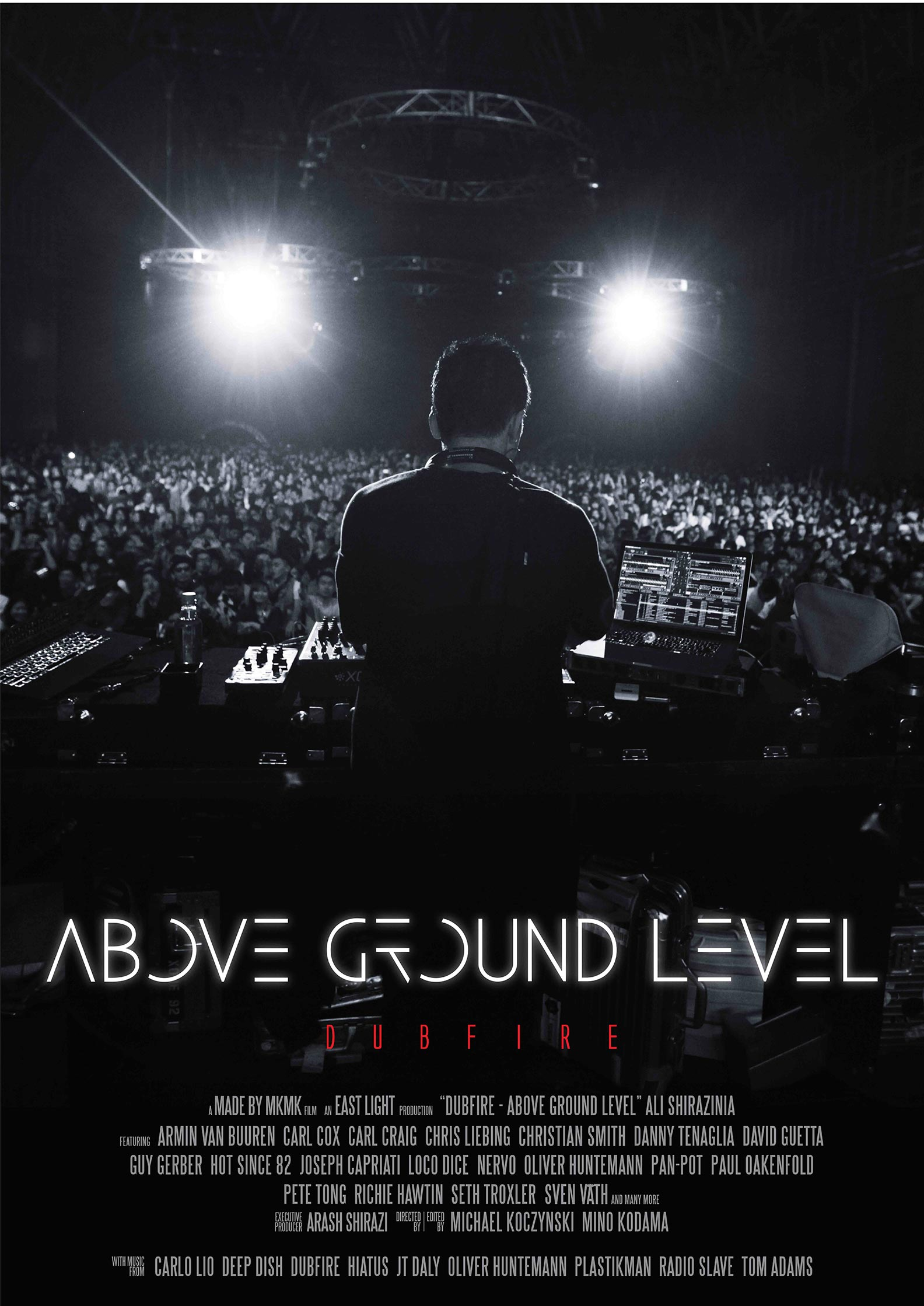 Above Ground Level: Dubfire Poster #1