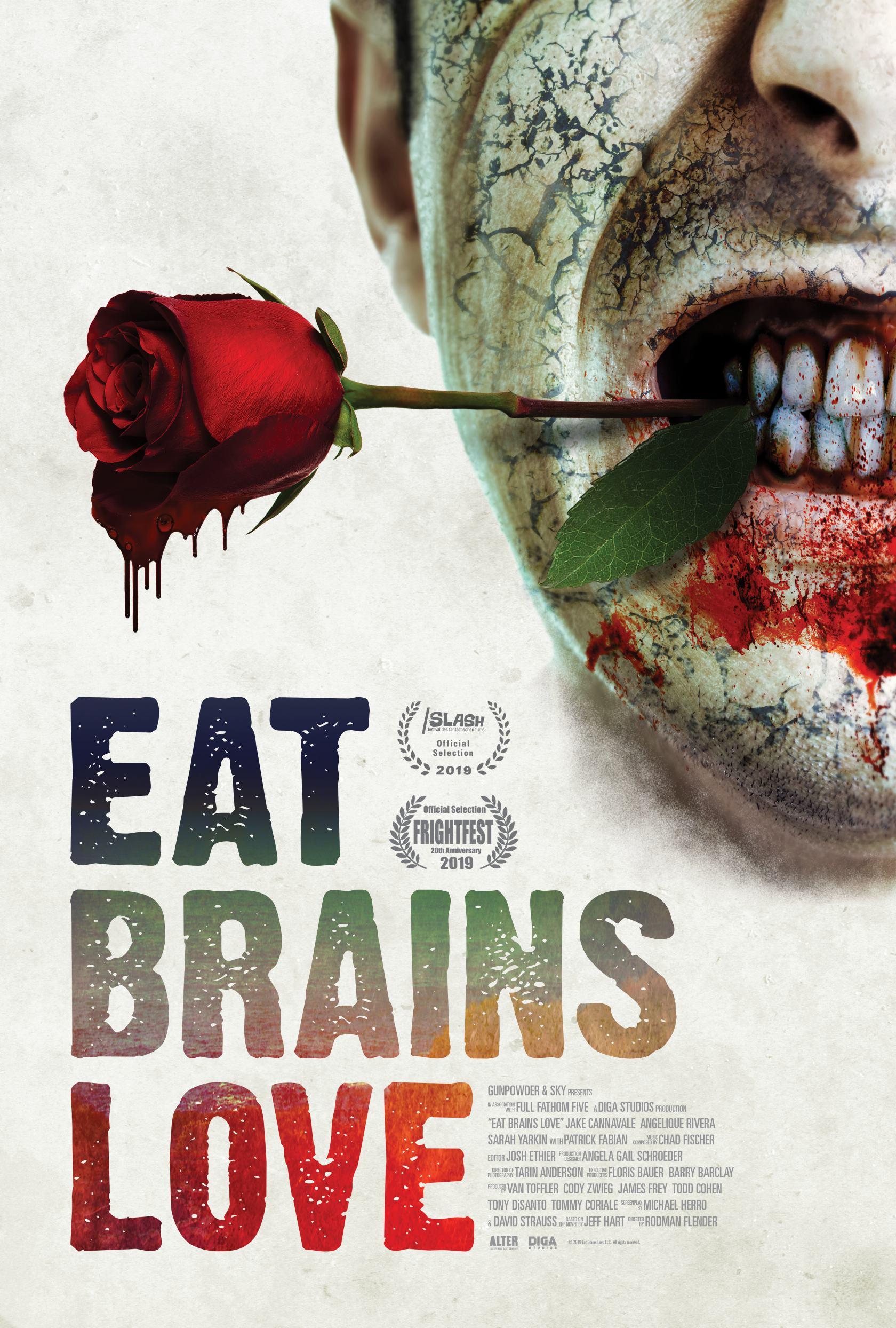 Eat, Brains, Love Poster #1