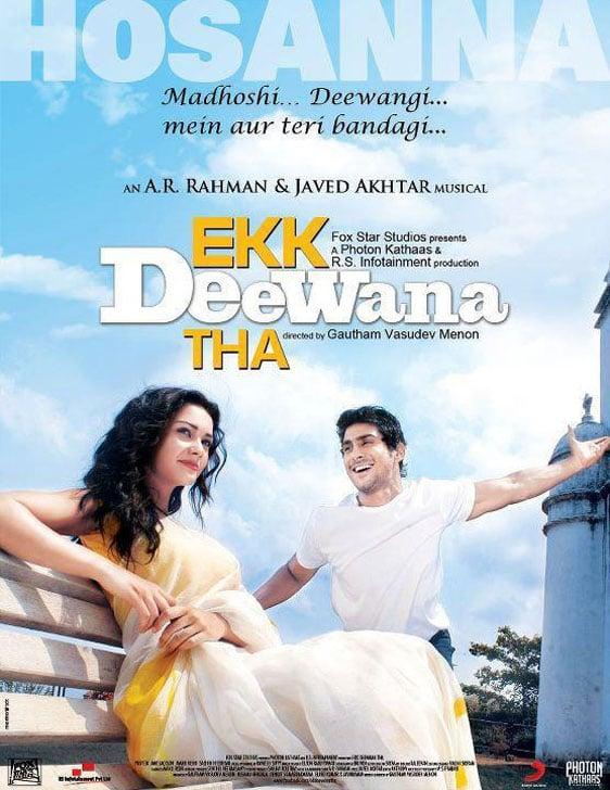 Ekk Deewana Tha Poster #1