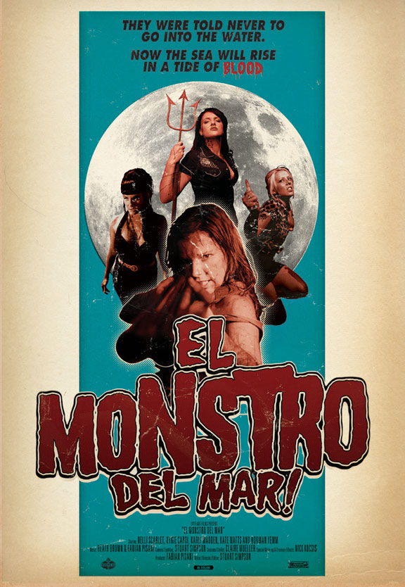 El monstro del mar! Poster #2