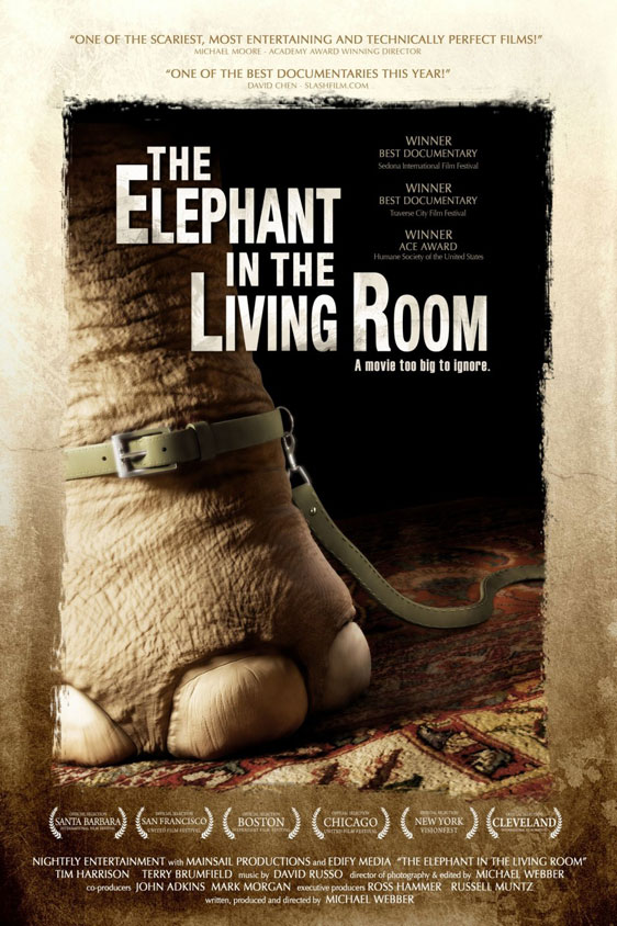 The Elephant in the Living Room Poster #2