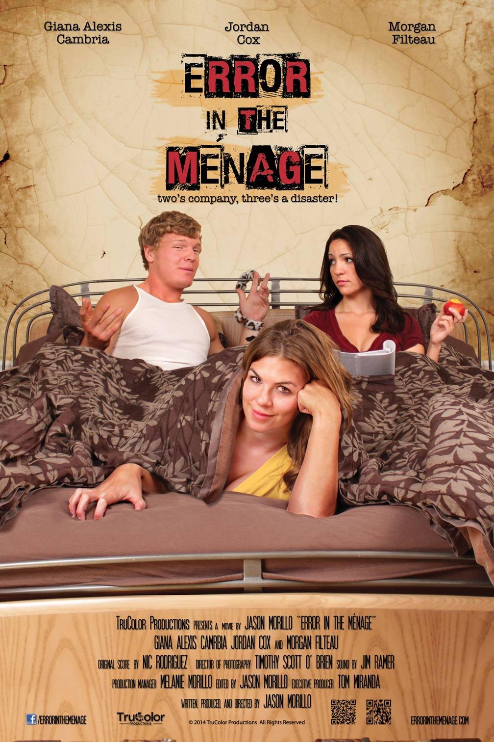 Error in the Menage Poster #1