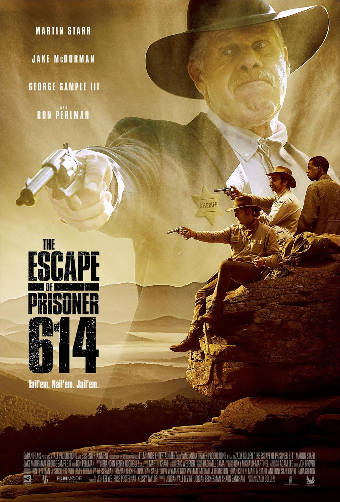 The Escape of Prisoner 614 Poster #1