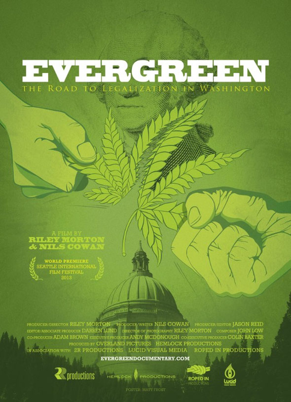 Evergreen: The Road to Legalization in Washington Poster #1