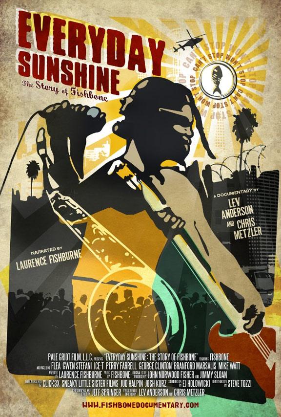 Everyday Sunshine: The Story of Fishbone Poster #1
