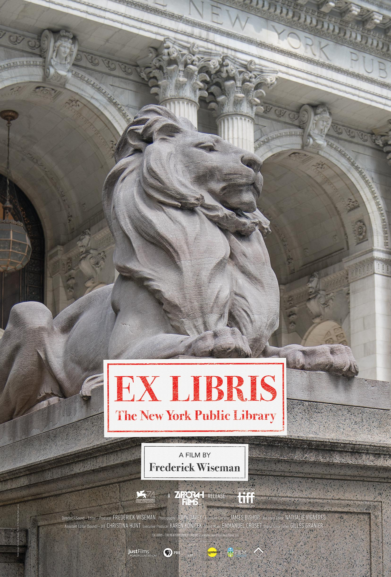 Ex Libris: New York Public Library Poster #1