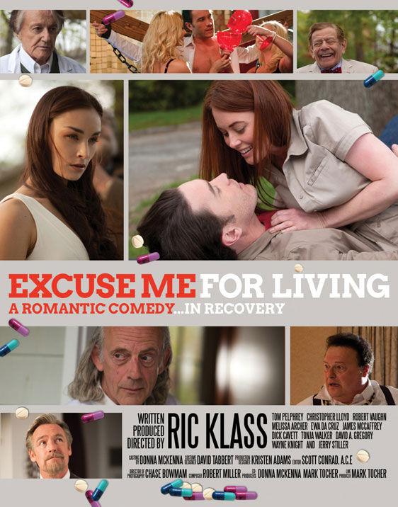 Excuse Me for Living Poster #1