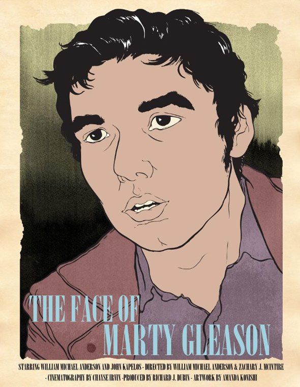 The Face of Marty Gleason Poster #1