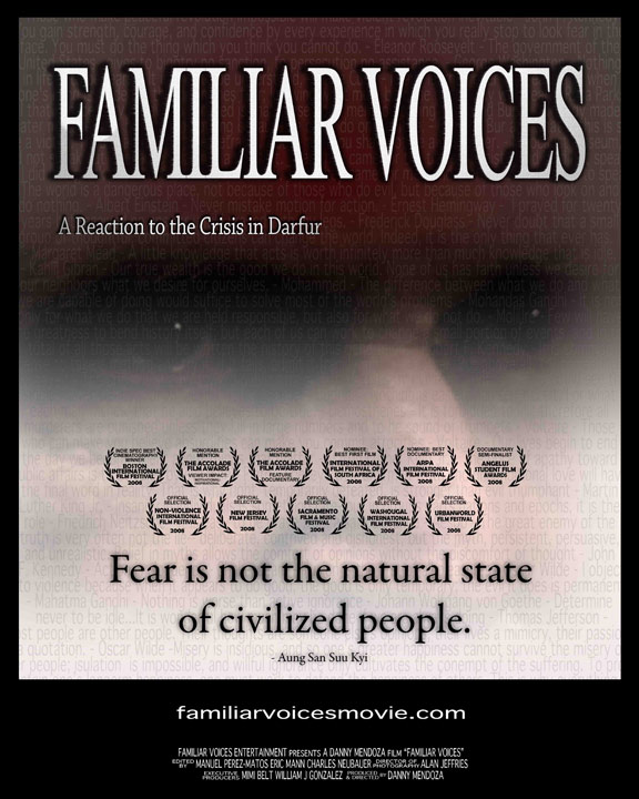 Familiar Voices Poster #1