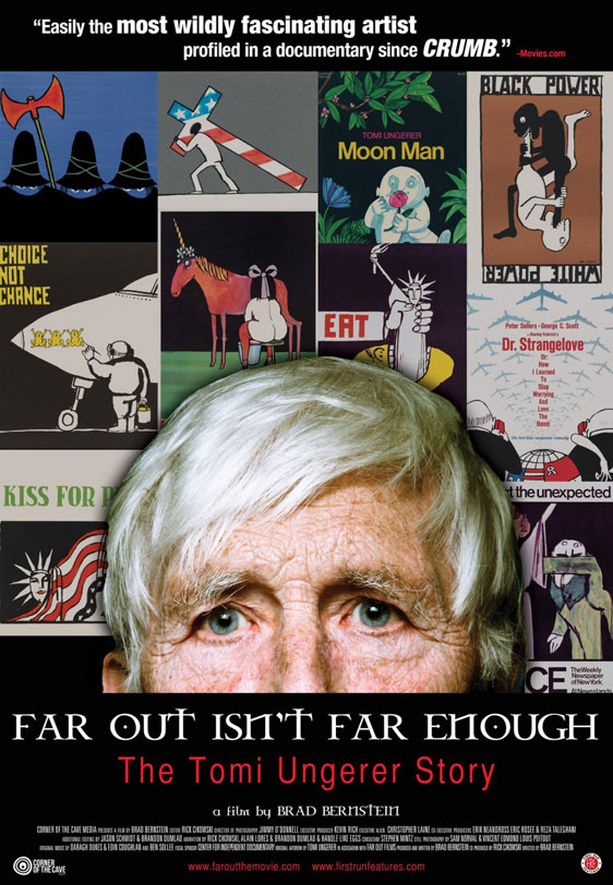 Far Out Isn't Far Enough: The Tomi Ungerer Story Poster #2