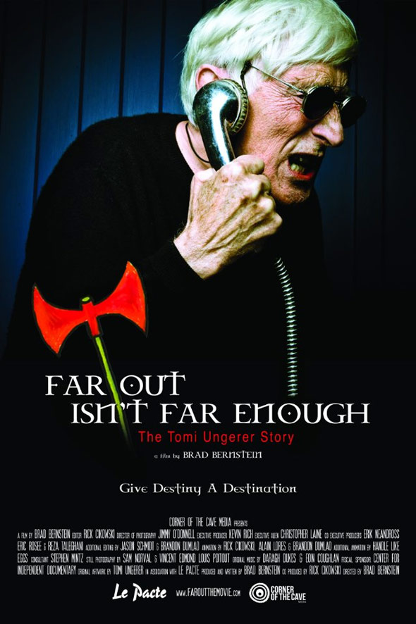 Far Out Isn't Far Enough: The Tomi Ungerer Story Poster #1