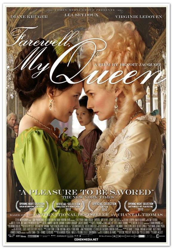 Farewell, My Queen Poster #1