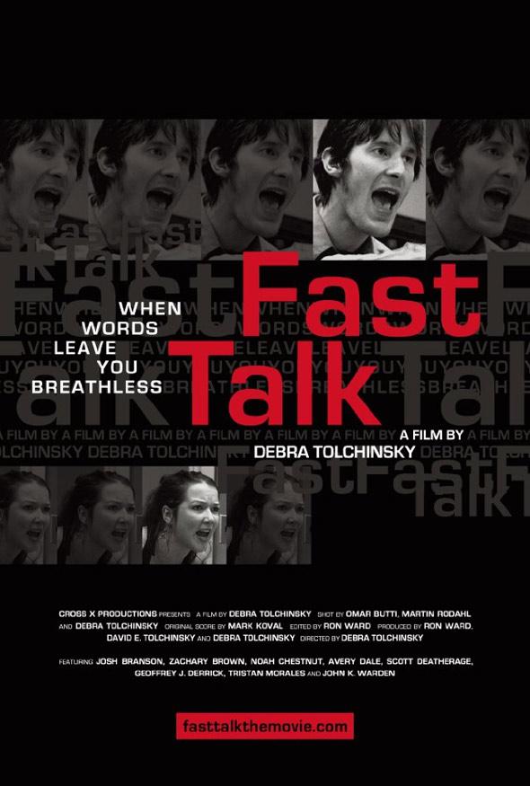 Fast Talk Poster #1