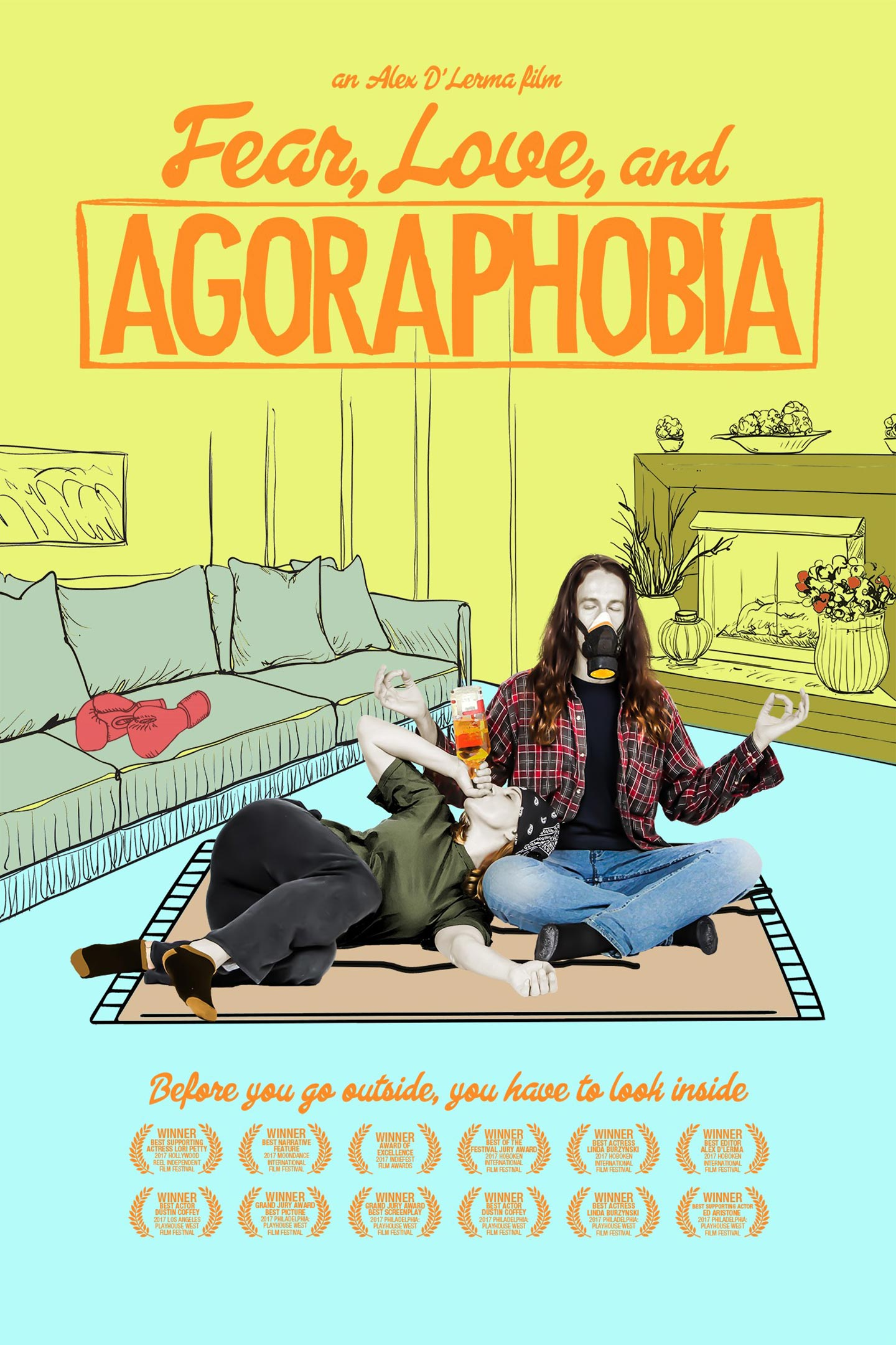 Fear Love and Agoraphobia Poster #1