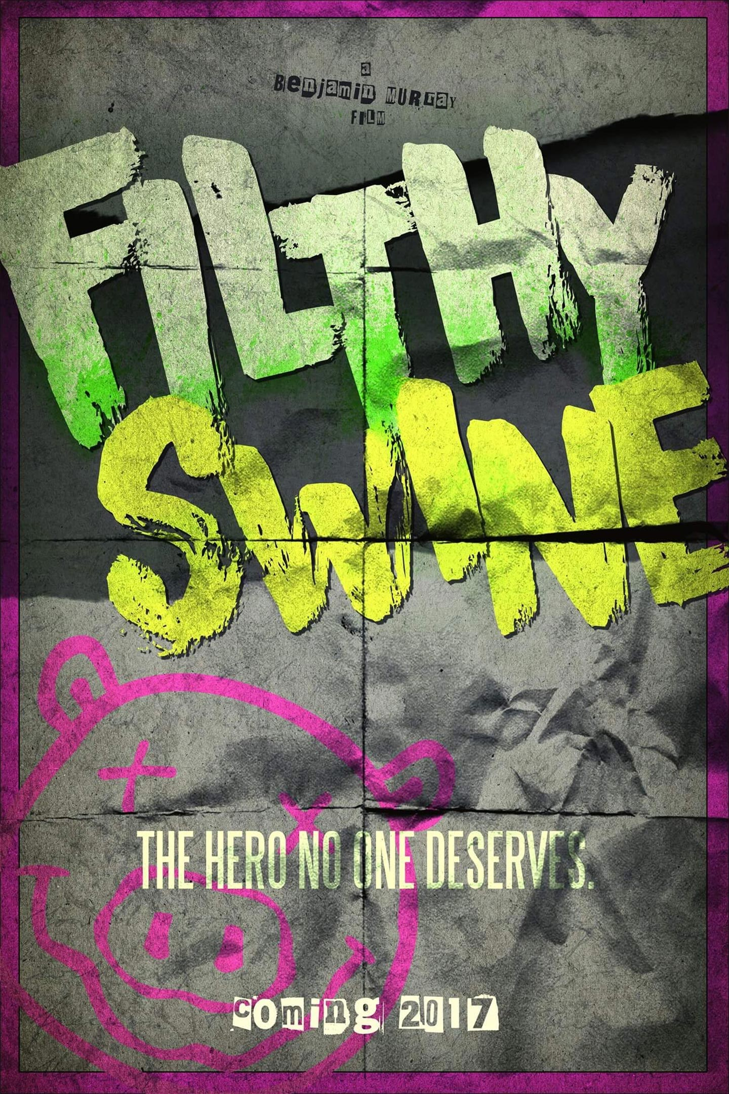 Filthy Swine Poster #1