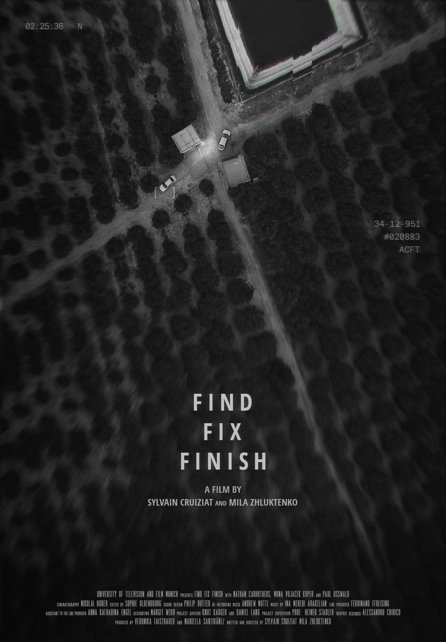 Find Fix Finish Poster #1