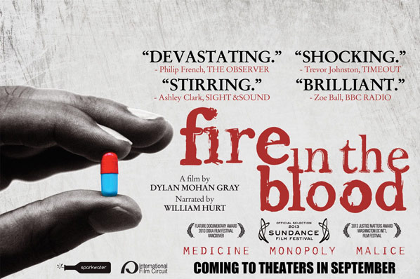 Fire in the Blood Poster #1