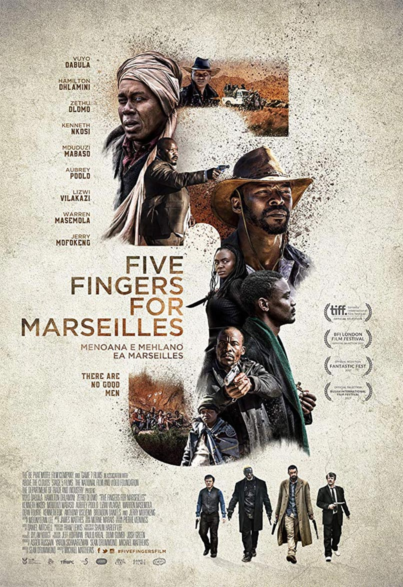 Five Fingers for Marseilles Poster #1