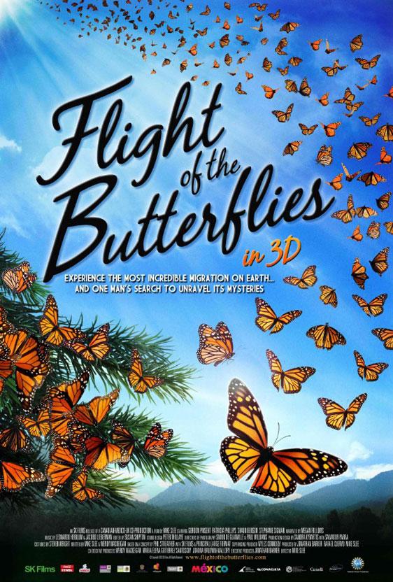 Flight of the Butterflies Poster #1